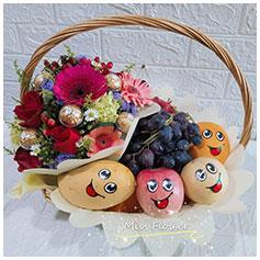 Fruit & Flower Basket 水果花篮